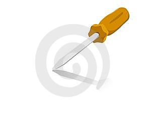 Screw Driver Royalty Free Stock Photo - Image: 6266155