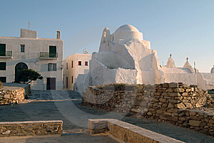 Church In The Greek Island Of Mykonos Stock Photos - Image: 6267753