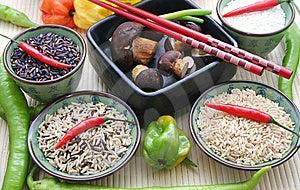 Asiatischer Reis Stock Images - Image: 6270464