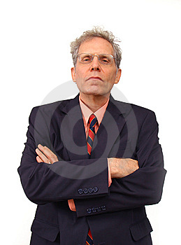 Businessman In A Suit Stock Photography - Image: 6270702