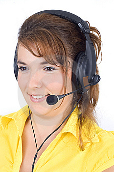 Customer Service Agent Stock Photos - Image: 6274113