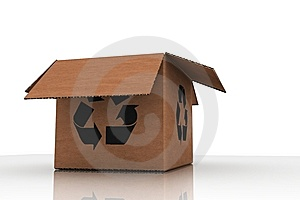 Recycle - Empty Cardboard Stock Image - Image: 6274401