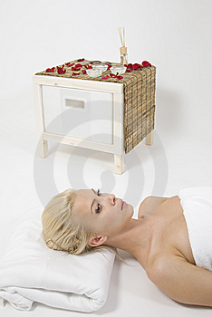 Woman Taking Spa Treatment Stock Photography - Image: 6275562
