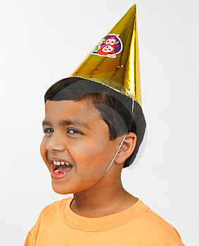 Boy In Birthday Bash Royalty Free Stock Photo - Image: 6278015