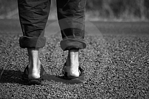 Before Crossing The Road Royalty Free Stock Image - Image: 6279976