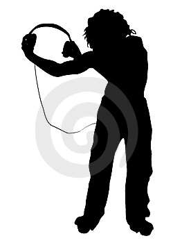 Man Holding Headphone Royalty Free Stock Photo - Image: 6281475