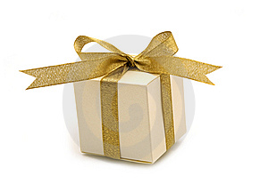 One  Fancy Gift Box Royalty Free Stock Photo - Image: 6285885