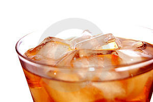 Ice Filled Soft Drink Royalty Free Stock Photography - Image: 6286907