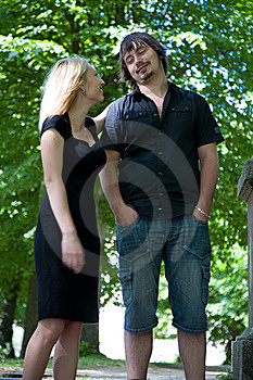 Portrait Of The Beautiful Young People Royalty Free Stock Photography - Image: 6287087
