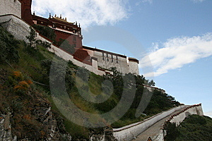 Tibet's Potala Palace In Lhasa Stock Photography - Image: 6290392