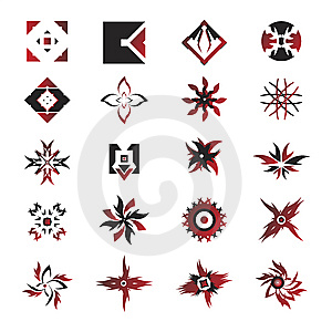 Vector Icons - Elements 24 Stock Images - Image: 6292554