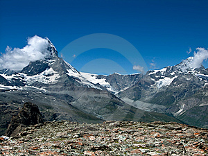 Matterhorn In Swiss Alps Royalty Free Stock Image - Image: 6292676