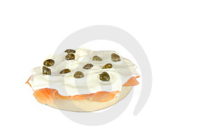 Bagel And Lox Stock Image - Image: 6293731
