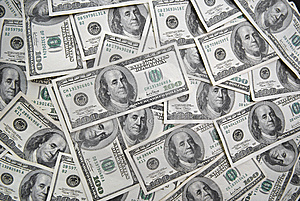 One Hundred Banknotes Stock Photos - Image: 6293833