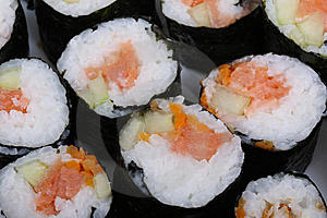 Sushi Maki Rolls III Stock Photos - Image: 6294943