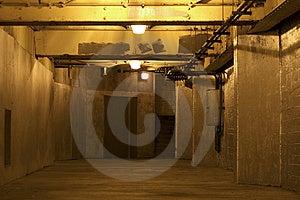 Underground Hallway Royalty Free Stock Images - Image: 6295549