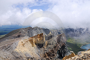 Colorful Mountains Beside Tianchi Of Changbaishan Royalty Free Stock Photos - Image: 6295598
