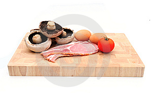 Breakfast Ingredients Stock Images - Image: 6299304