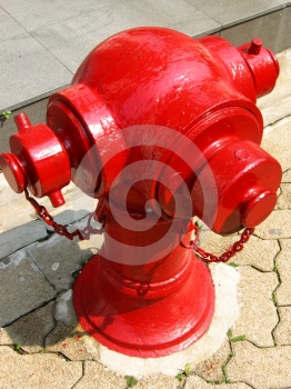 Red Fire Hydrant Stock Photography - Image: 634082