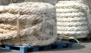 Mooring Ropes Royalty Free Stock Photo - Image: 637195
