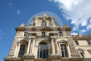 Louvre Museum In Paris Royalty Free Stock Photography - Image: 639317