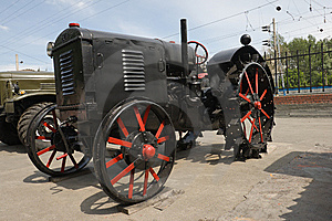 Old Tractor Royalty Free Stock Photos - Image: 6300028