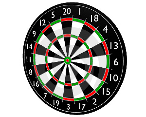 Target Dart Royalty Free Stock Photos - Image: 6301288