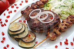 Greg food Free Stock Image