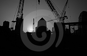 Construction Machinery 1 Royalty Free Stock Photos