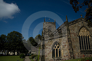 A View Of The Church Royalty Free Stock Photo - Image: 6308055