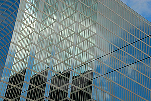 Office Buildings With Reflections Stock Photography - Image: 6309282