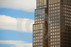 Office Buildings With Reflections Royalty Free Stock Photography - Image: 6312497