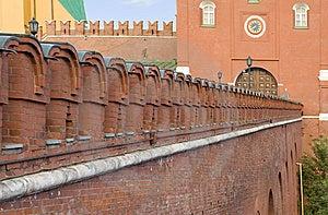 Kremlin Wal Royalty Free Stock Image - Image: 6314166