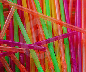 Colorful Party Straws Royalty Free Stock Photo - Image: 6316375