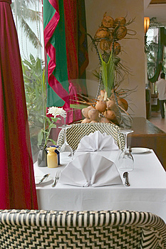 Tropical Restaurant Royalty Free Stock Images - Image: 6319539