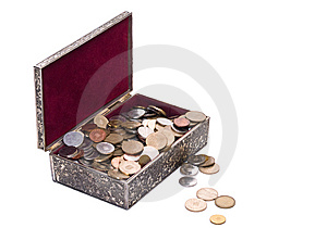 Treasure Box Royalty Free Stock Photo - Image: 6321405