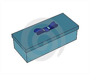 Blue Gift Box Stock Photo - Image: 6323460