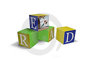 Blocks That Spell READ Royalty Free Stock Photo - Image: 6324375