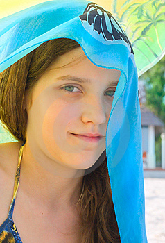 Portrait Beauty Teen Girl Royalty Free Stock Image - Image: 6326806
