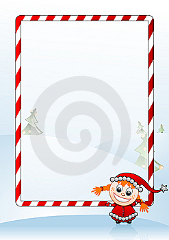 Vector Illustration Of A Christmas Greeting Card Royalty Free Stock Photos - Image: 6327078