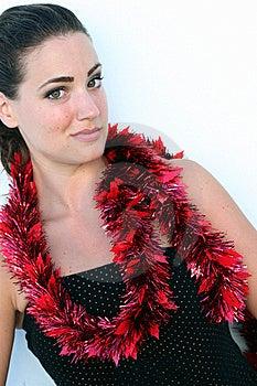Isolated Christmas Portrait Stock Photo - Image: 6327480