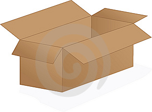 Cardboard Box Stock Photos - Image: 6327763