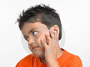 Boy Chilling Out Listening To Music Stock Photography - Image: 6330212