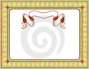 Certificate Border Stock Photo - Image: 6333330