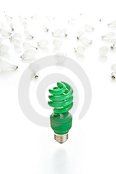 Going Green Series Royalty Free Stock Photography