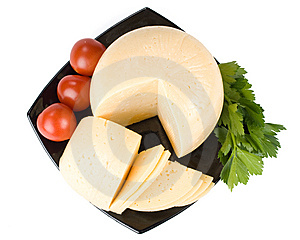 Fresh Cheese Royalty Free Stock Photography - Image: 6338957