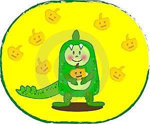 Dinosaur Boy Stock Image - Image: 6339941