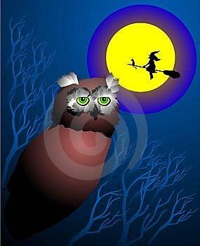 Horror Night Stock Photography - Image: 6339942