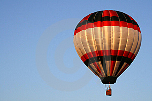 Red, White and Black Balloon 4