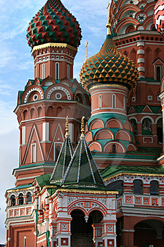 Vasiliy Blagenniy's Tample Royalty Free Stock Photo - Image: 6344575